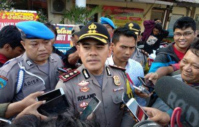 Kapolres Cirebon Kota, AKBP Roland Ronaldy, saat ditemui di Mako Polres Jalan Veteran, Kota Cirebon. Foto: Alwi
