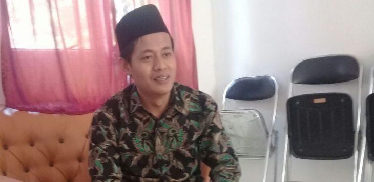 Ramlan Maulana ketua KPU Purwakarta, saat ditemui di ruangannya./Foto: Ade