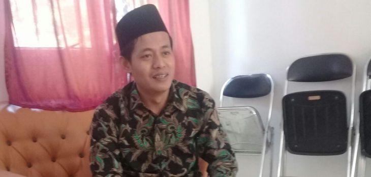 Ramlan Maulana ketua KPU Purwakarta, saat ditemui di ruangannya.