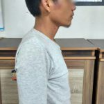 Pelaku DJ saat ditangkap jajaran Sat Narkoba Polres Purwakarta