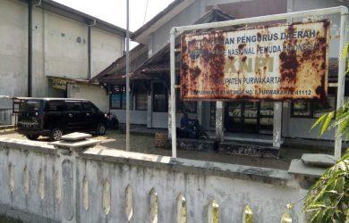 Kondisi kantor KNPI Purwakarta