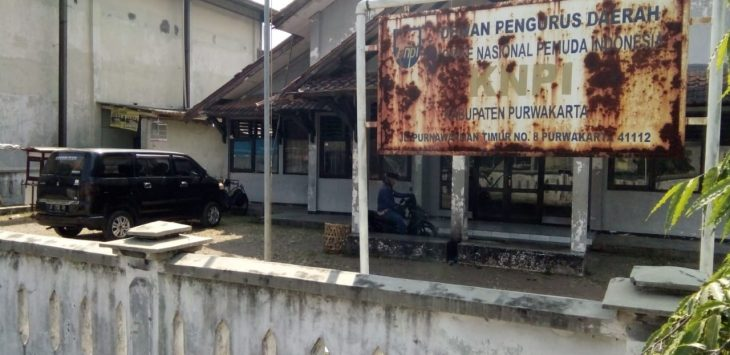 Kondisi kantorKNPI Purwakarta./Foto: Ade