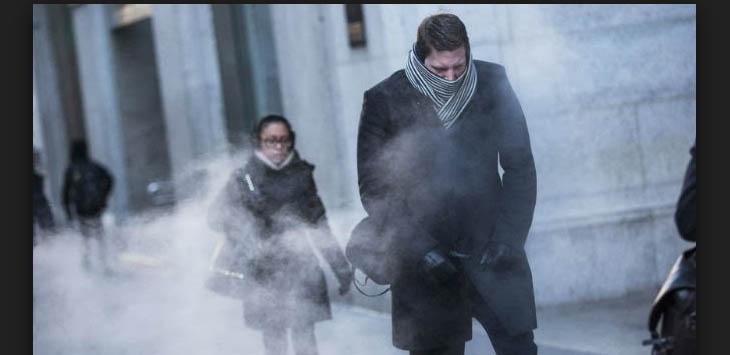 Ilustrasi cuaca dingin