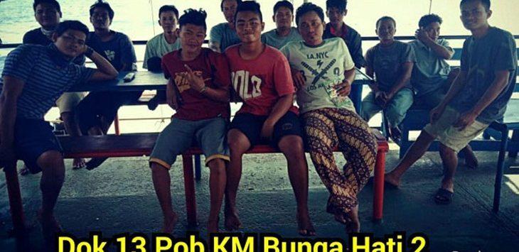 13 Pob KM Bunga Hati 2 dalam kondisi baik./Foto: Istiewa (rmol)