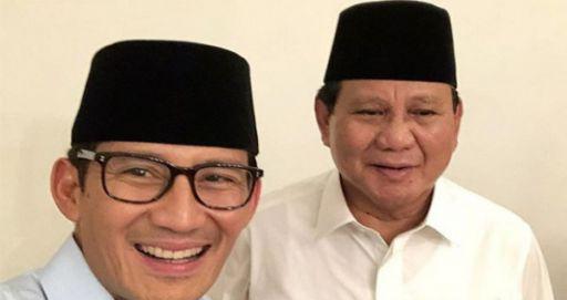 Prabowo Gandeng Sandi,Arie Untung: Drama ini Tuhan yang Atur