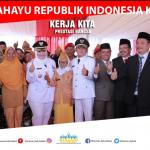 Bupati Bekasi foto bersama veteran perang. Foto : Humas Pemkab Bekasi for Pojoksatu