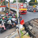 Pembangunan Flyover di Jalan RE Martadinata Bogor.