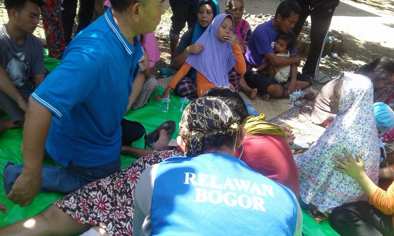 Suasana Gempa di Lombok./Foto: Firdaus