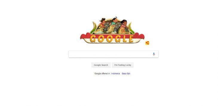 Google sambut HUT RI./Foto: Istimewa