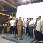 Ormas Islam dari Lintas Agama melakukan diskusi di Joglo keadilan, Kemang, Kabupaten Bogor, foto/adi
