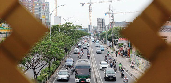 Jalan Margonda Raya. (Radar Depok)