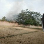 Kebakaran Gudang Toko Bangunan di Citeko Purwakarta