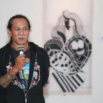 Pembukaan pameran oleh Bapak Lucky selaku budayawan Sunda.