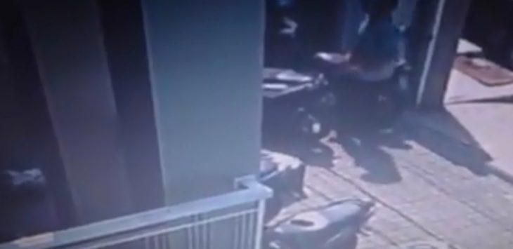 Rekaman CCTV diduga pelaku curanmor  di Purwakarta./Foto: Istimewa