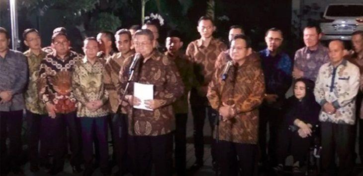 SBY Prabowo./Foto: Rmol