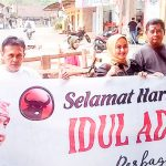 BERBAGI: Ketua Umum Taruna Merah Putih Maruarar Sirait, akan sebar hewan kurban di 32 Kecamatan se-kabupaten Cianjur.