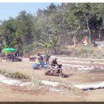Grasstrack Vespa di Kampung Babakan Kelurahan Sukakarya Kecamatan Warudoyong