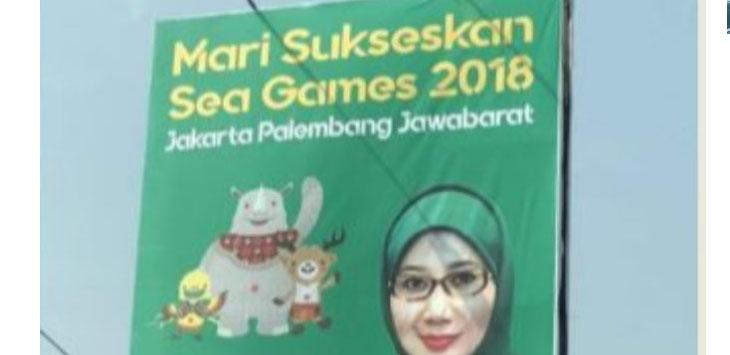 aliho dukungan acara pesta akbar 4 tahunan milik wakil ketua umum Partai Persatuan Pembangunan (PPP), Reni Marlinawati salah cetak