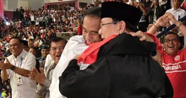 Semoga Pelukan Jokowi dan Prabowo Merasuk ke Politik