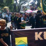 Karnaval 70 Ribu Detik di Cianjur. Foto (Rizky/Radar Cianjur)