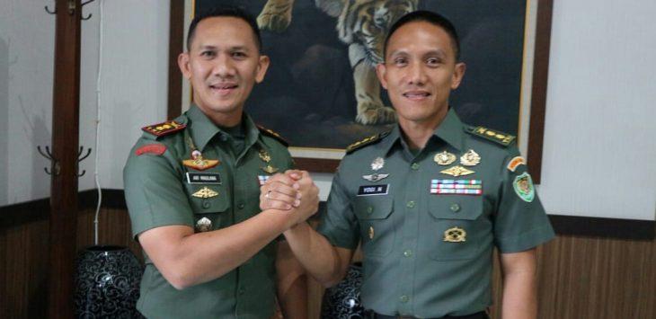 Dandim 069 Purwakarta bakal sertijab./Foto: Ade