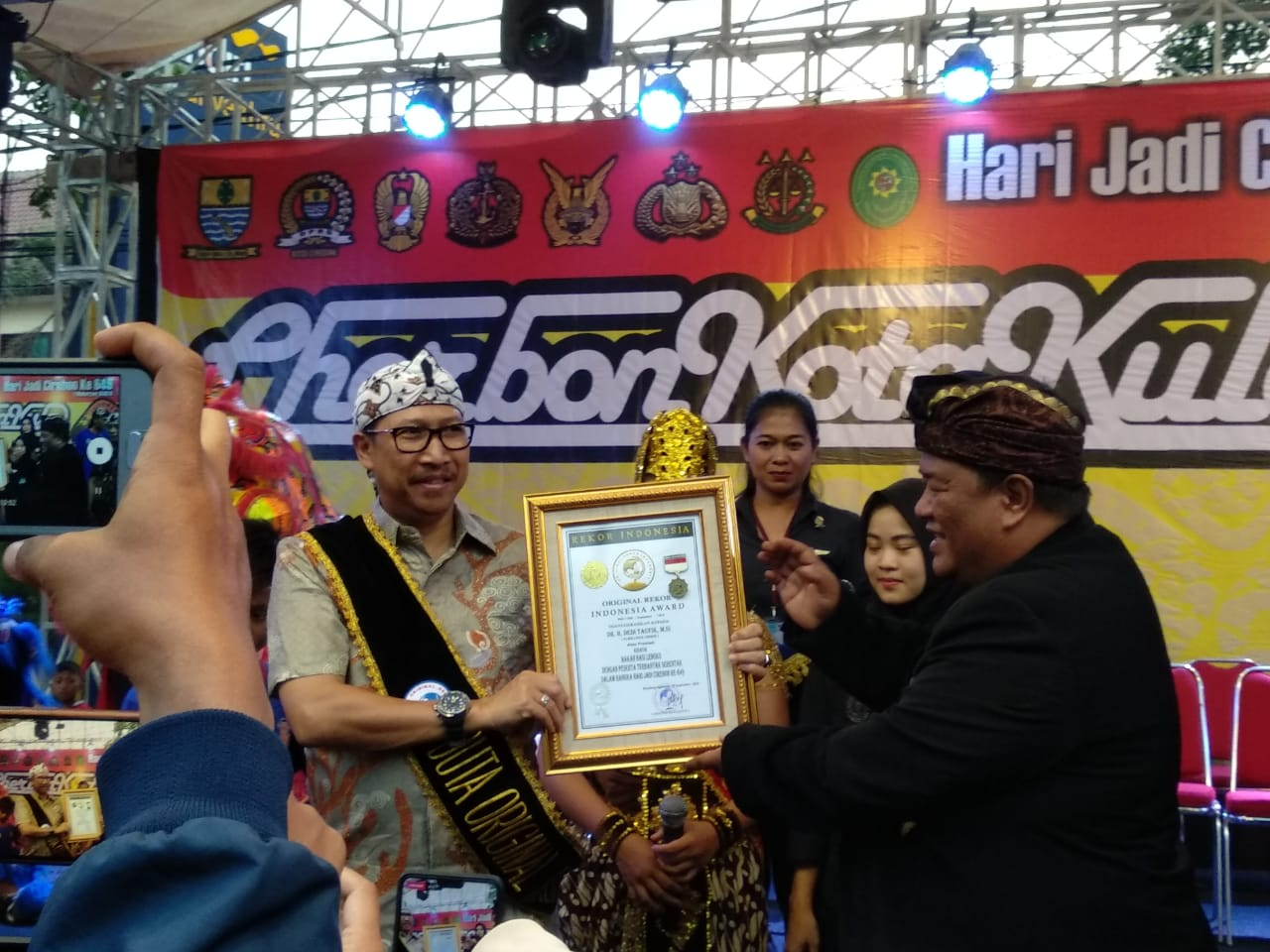 PjsWali Kota Cirebon Dedi Taufik