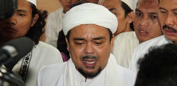 Habib Rizieq Shihab./Foto: Rmol