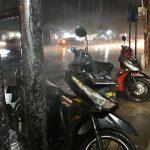 Hujan deras di Cirebon