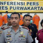 Polres Purwakarta ungkap kasus narkoba. Foto:Ade