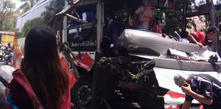 Kecelakaan di Subang, Sabtu 22/9/2018)./Foto: Istimewa