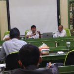 Jajaran PDAM Tirta Pakuan Kota Bogor menggelar Konferensi Pers, Kamis (20/09/2019). Adi