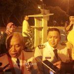 Wali Kota Bekasi Rahmat Effendi bersama wakilnya Tri Adhianto. (Yurizkha Aditya/PojokBekasi)