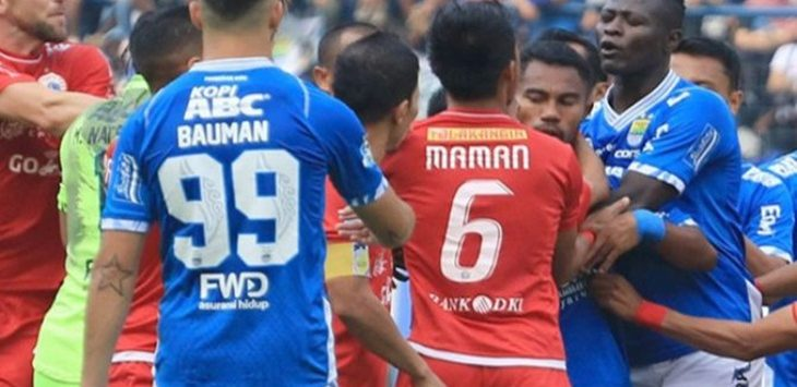 Duel Persib melawan Persija di Stadion GBLA, (ilustrasi)./Foto: jpc
