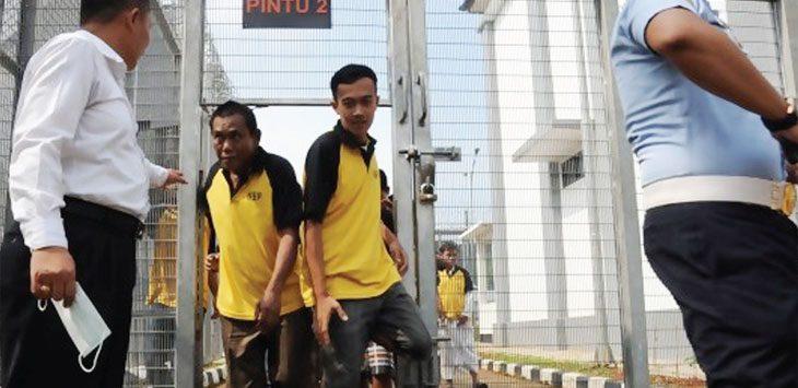 Ilustrasi penghuni rutan Kebonwaru Bandung. (ist)