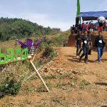 SITUS: Warga mulai berbondong-bondong ingin mendatangi Situs Batarai Desa Mekarjaya, Kecamatan Sumedang Utara. Panji/Radar Sumedang
