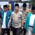 KUNJUNAN: Kapolri Jenderal Tito Karnavian saat menghadiri Milad Persaudaraan Muslimin Indonesia (Parmusi) yang digelar di Gunung Gede Pangrango, Cibodas Cipanas.