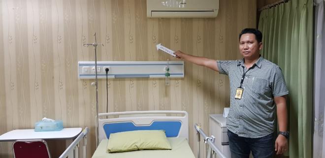 Ruang Rawat Inap Ratna Sarumpaet di Ruang B.1 Lantai 3 RS. Khusus Bedah Bina Estetika./Foto: Istimewa