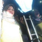 Bupati Bekasi Neneng Hasanah Yasin saat tiba di Gedung KPK. Foto : Istimewa