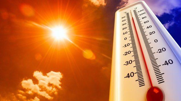 Ilustrasi cuaca panas./istimewa