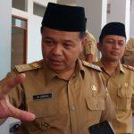 Bupati Bandung Barat Aa Umbara.