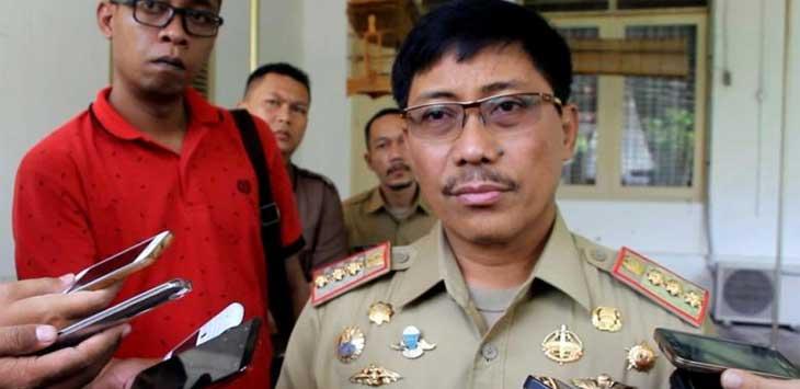 Bupati Cirebon Sunjaya Purwadisastra yang ditangkap KPK. Senin (19/11) akan dilantik Pj Bupati Cirebon oleh Gubernur.