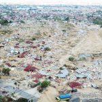 Penampakan Petobo, Palu Barat, yang mengalami likuifaksi usai gempa dan tsunami