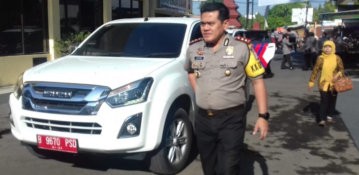 Kapolres Cirebon Kota (Ciko), AKBP Roland Ronaldy. Alwi/pojokjabar.com