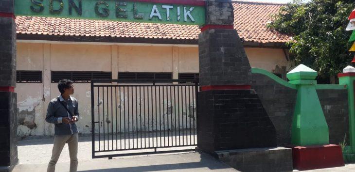 Gapura masuk SDN Gelatik Kota Cirebon. Alwi/pojokjabar.com