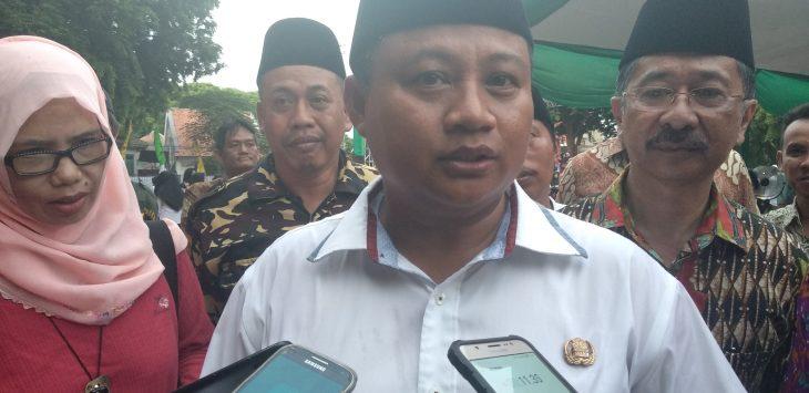 Wakil Gubernur Jawa Barat, UU Ruzhanul Ulum, saat memberikan keterangan. Alwi/pojokjabar.com