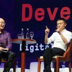 Konglomerat Jack Ma di Forum Investor IMF-World Bank di Bali (FEDRIK TARIGAN/JAWA POS)