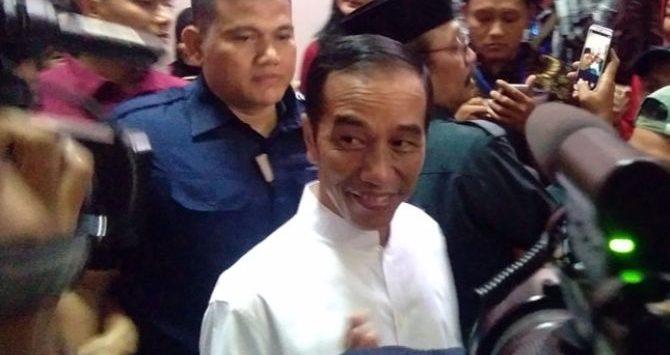 Jokowi berada di Jawa Tengah