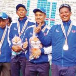 PAMER MEDALI: Porda Jabar XII telah berakhir, Kontingen Karawang membawa pulang 81 medali.