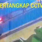 Maling Terekam di CCTV