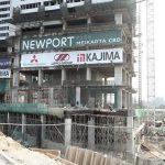 Salah satu lokasi apartemen Meikarta yang dibangun di kawasan Bekasi, Jabar (Imam Husein/Jawa Pos)